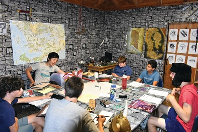 Camp Kabeyun Adds Dungeons & Dragons to Daily Choices