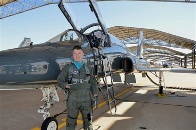 Kabeyun Alum Flying High in U.S. Air Force Training