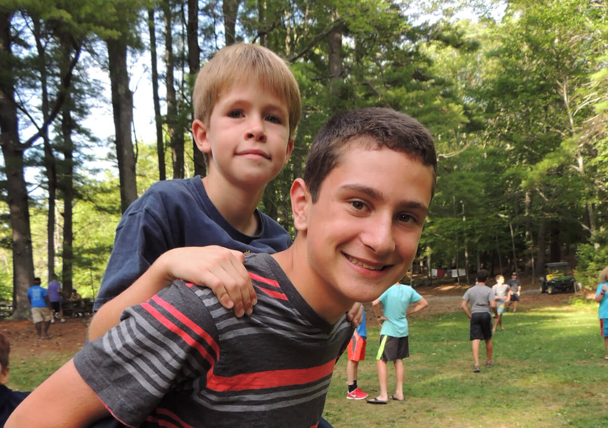 Building Relationships - summer camps New England