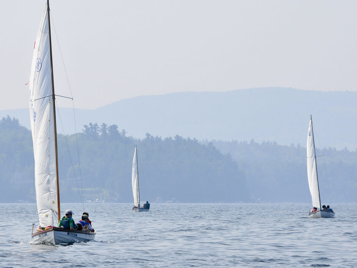 Kabeyun boys summer camp –Sailing